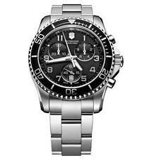 Quarz-Armbanduhren (Batterie) mit Edelstahl-Victorinox-Erwachsene