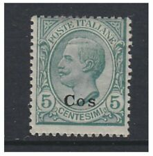 Dodecanese - 1912/21, 5c stamp - Optd Cos - M/M - SG 4C