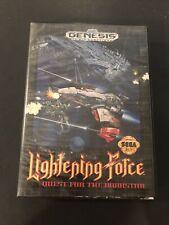 lightening force sega genesis box only
