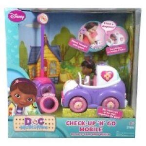 Disney Doc Mcstuffins Check Up N Go Mobile Remote Control Car