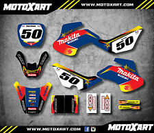Full Custom Graphic Kit Suzuki JR 50 ROCKMAK STYLE stickers decals graphics