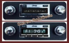 1981-1986 Jeep CJ-8 Scrambler 200 watt AM FM Stereo Radio Auxiliary Inputs