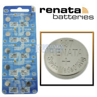 397 Renata Watch Battery SR726SW Swiss Made 0% Mercury Official Distributor