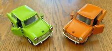 (2) 1989 TRABANT 601 EAST GERMAN TOY CARS BOUGHT IN EAST GERMANY