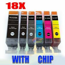 18x Printer PGI525 CLI526 for Canon MG6250 MG8150 MG8100 MG8250 Ink Cartridge OZ