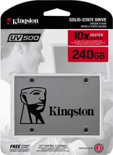 "Kingston 240GB UV500 2.5"" SATA III Solid State Drive"