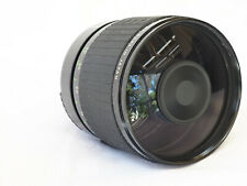 SIGMA MIRROR TELEPHOTO 600mm f/8 lens with CASE and more for Canon FD mount.