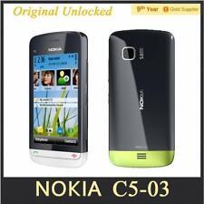 Cheapest Unlocked Original Nokia C5-03 Mobile Phone GPS WIFI Bluetooth 3G 5MP