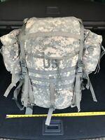 US Military Molle II Rucksack Backpack Frame Only Desert Tan Gen IV P//N 1603 NEW