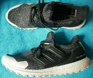 ADIDAS ULTRA BOOST GAME OF THRONES NIGHT WATCH TRAINERS SHOES UK 11.5 EURO 46.5