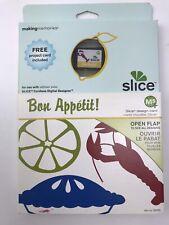 New Making Memories Slice Design Card Bon Appetit 33753 Food Scrapbooking Cards