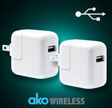 2x USB Wall Charger Cube Plug for iPad Series Air Mini iPhone 4 5 6 6s plus iPod