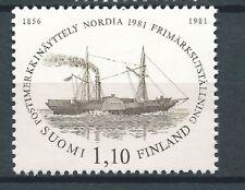 FINLAND 1981 STAMP EXHIBITION SHIP SHIPS MNH FRESH
