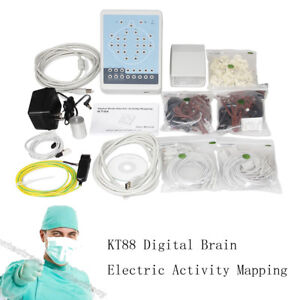 CONTEC Digital Portable Machine,Mapping System 16-channel EEG KT88+2 tripods FDA