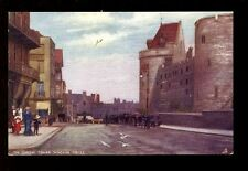 Berkshire WINDSOR Curfew Tower Tuck Oilette PPC #6164 Bucks