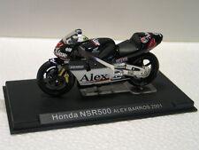 Modelo de moto honda nsr 500 alex barros 2001 Ixo/Altaya 1:24