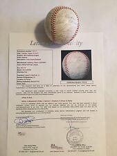 1972 California Angels Autographed OAL Baseball 29 AUTO'S Nolan Ryan JSA LOA