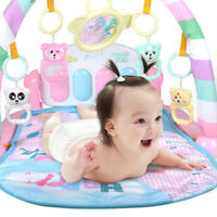 Baby Gym Play Mat Lay Fitness Music And Lights Fun Piano Boy Girls lm12