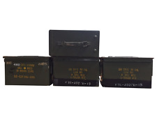 4 Pack 50 Cal ammo cans - Grade 2