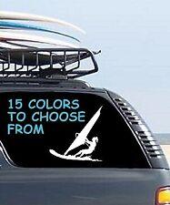 8 Sizes Female Girl Windsurfer Car Window Decal Sticker Tablet Macbook Laptop