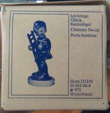 "Hummel Goebel Figurine 12 2/0 Chimney Sweep Boy With Ladder 4"" Tall"