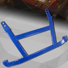 For 1992-2000 Honda Civic Blue 4-Point H-Brace Aluminum Front Support Lower Bar