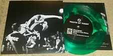 "YOUTH OF TODAY - SELF TITLED 7""  CLEAR GREEN WAX (NEW UNPLAYED) SXE NYHC SHELTER"