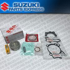 NEW 2011 - 2013 SUZUKI RMZ250 RMZ 250 COMPLETE OEM TOP END PISTON KIT W/ GASKETS