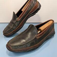 ALLEN EDMONDS Boulder Men's 12 3E Wide Driving Loafer Black Leather Shoes $275