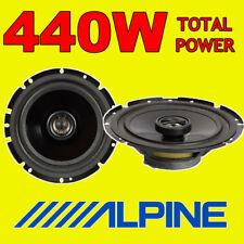 """Potenza totale ALPINE 440W 2WAY 16.5cm/6.5"""" SXE/SXV Auto/Furgone Altoparlanti Porta Scaffale"""
