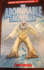 Choose Your Own Adventure: The Abominable Snowman #1