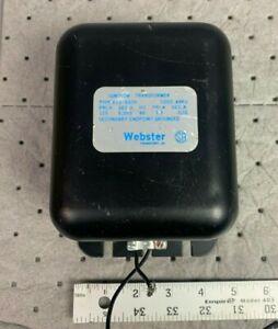 Webster 612-6A7 Primary 120 Volt Secondary 6000 Volt Transformer 612-6A7H