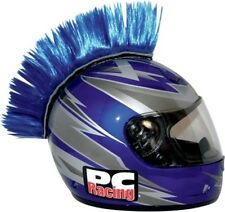 PC Racing Helmet Mohawk Blue for Street Motorcycle Bike Snowmobile Motocross
