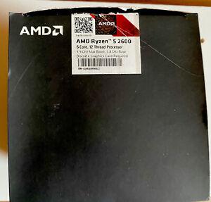 AMD Ryzen 2nd Gen 5 2600 - 3.9 GHz Six Core (YD2600BBM6IAF) Prozessor