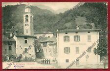 LECCO PRIMALUNA 07 MUNICIPIO Cartolina viaggiata 1901