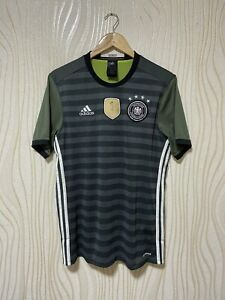 GERMANY 2016 AWAY FOOTBALL SHIRT SOCCER JERSEY ADIDAS AA0110 sz M