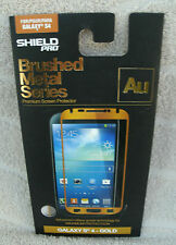 Shield Pro Brushed Metal Series Skin For Galaxy S4 ~ NEW