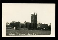 Somerset MELLS Frome Manor House Church from field early RP PPC