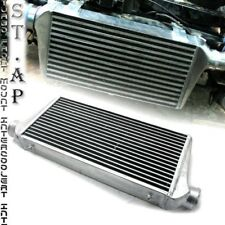 "31""X11.5""X3"" Fmic Tube And Fin Front Mount Turbo Aluminum Intercooler Chrome"