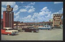 POSTCARD FT FORT WORTH TX/TEXAS LANDMARK TOURIST MOTEL MOTOR COURT LODGE 1950'S