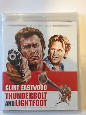 Thunderbolt and Lightfoot Blu-Ray Limited Edition Clint Eastwood Jeff Bridges