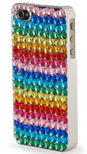 NEW iHip Rhinestone Rainbow Bling Couture iPhone 4/4S Hardshell Clip Case Cover