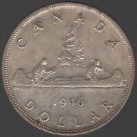 1946 Canada George VI Silver Dollar | World Coins | Pennies2Pounds