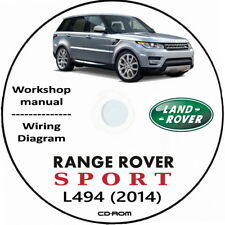 Range Rover Sport L494 anno 2014,Wokshop Manual.Manuale Officina Range Rover