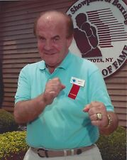 MICKEY DUFF 8X10 PHOTO BOXING PICTURE HOF'er
