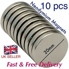 10 PZ-Forti Magneti NEO (20mm x 3mm) * Tirare Force 3.9kg * Powerforce EXCEL *