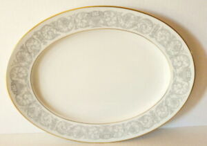 Rosenthal Florentine Meat Platter AIDA Germany Classic Rose 1940s Vintage