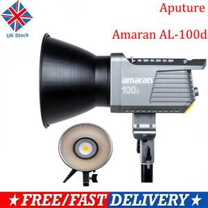 Aputure Amaran AL-100d 5600K COB Daylight Bowens Mount Led Video Light Lampe UK