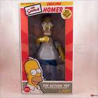 The Simpsons - Smiling Homer tin wind-up action toy with Glow-in-the-dark donut