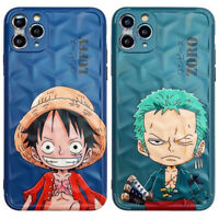 One Piece Cute Luffy Zoro TPU Phone Cover Case For iPhone 11 Pro Max XR SE 2nd